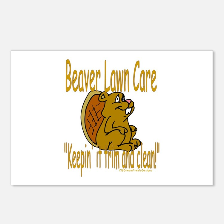 Beaver Lawn Postcards (Package of 8)