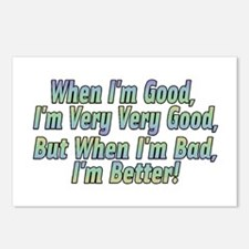 When I'm Good Postcards (Package of 8)