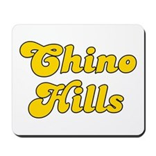 Retro Chino Hills (Gold) Mousepad