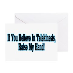 Raise My Hand Greeting Cards (Pk of 20)