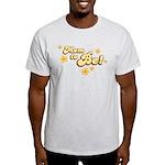Retro Mom To Be Yellow Light T-Shirt