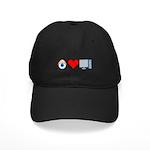 Eye Heart Computers Black Cap