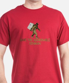 Abominable Binman funny weird T-Shirt
