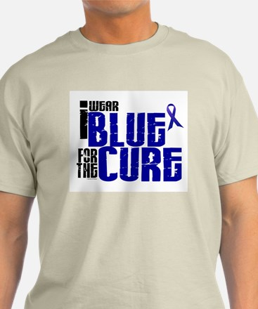I Wear Blue For The Cure 6 T-Shirt