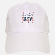 God Bless The U.S.A. Baseball Baseball Cap