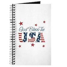 God Bless The U.S.A. Journal