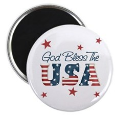 God Bless The U.S.A. Magnet