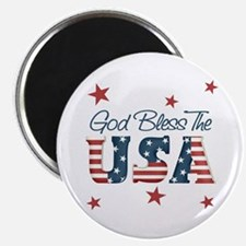 God Bless The U.S.A. Magnet