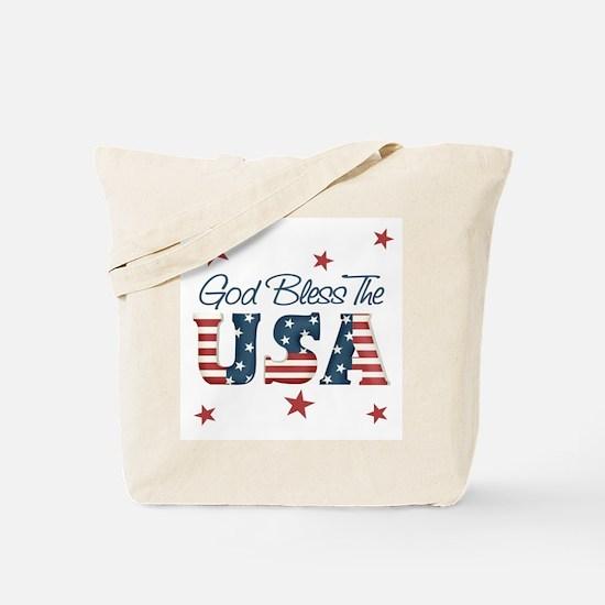 God Bless The U.S.A. Tote Bag