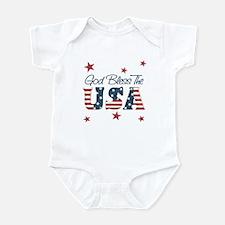 God Bless The U.S.A. Infant Bodysuit