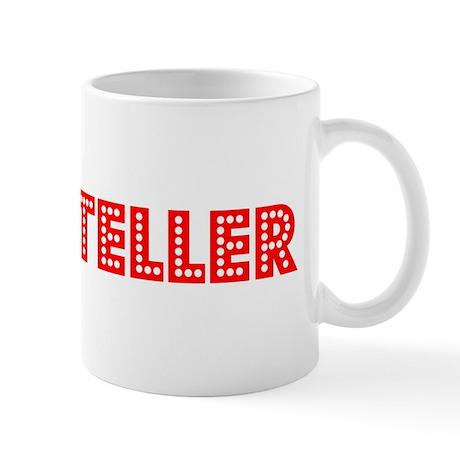 Retro Bank teller (Red) Mug