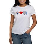 Eye Heart Computers Women's T-Shirt