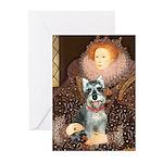 Elizabeth / Min Schnauzer Greeting Cards (Pk of 20