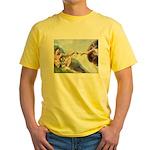 Creation / Schnauzer (#8) Yellow T-Shirt