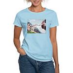 Creation / Schnauzer (#8) Women's Light T-Shirt