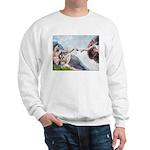 Creation / Schnauzer (#8) Sweatshirt
