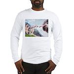 Creation / Schnauzer (#8) Long Sleeve T-Shirt
