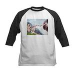 Creation / Schnauzer (#8) Kids Baseball Jersey