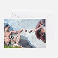 Creation / Schnauzer (#8) Greeting Card