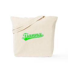 Retro Tianna (Green) Tote Bag