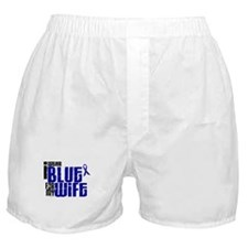 I Wear Blue For My Wife 6 Boxer Shorts