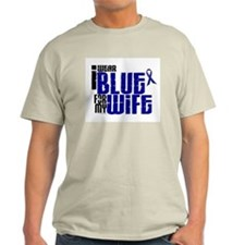 I Wear Blue For My Wife 6 T-Shirt