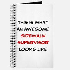 awesome sidewalk supervisor Journal