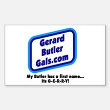 G-E-R-R-Y Rectangle Decal