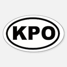 Moogle KPO Final Fantasy Decal