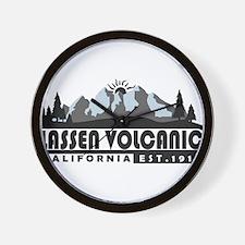 Lassen Volcanic - California Wall Clock