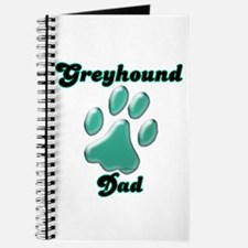 Dad Paw Teal Journal