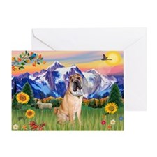 Mt Country / Shar Pei (#5) Greeting Card