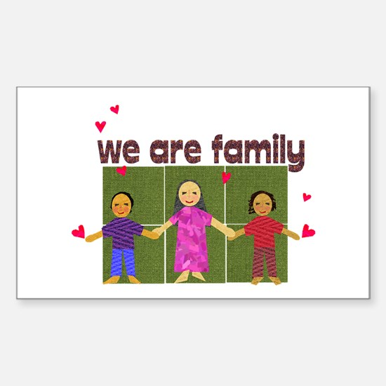Family Rectangle Decal
