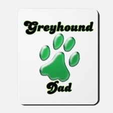 Dad Paw Green Mousepad
