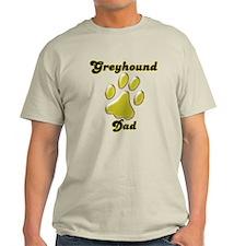 Dad Paw Gold T-Shirt