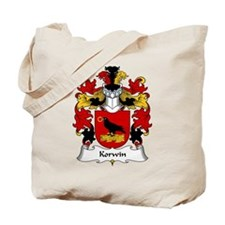 Korwin Family Crest Tote Bag