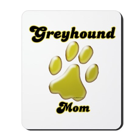 Mom Paw Gold Mousepad