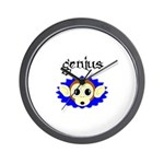 GENIUS MONKEY FACE Wall Clock