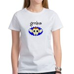 GENIUS MONKEY FACE Women's T-Shirt