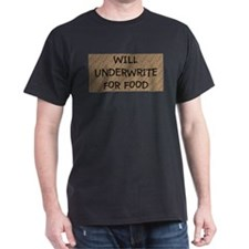 New Underwrite for Food T-Shirt