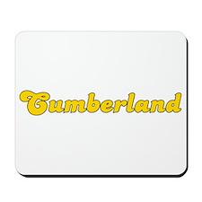 Retro Cumberland (Gold) Mousepad