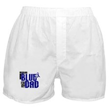 I Wear Blue For My Dad 6 Boxer Shorts
