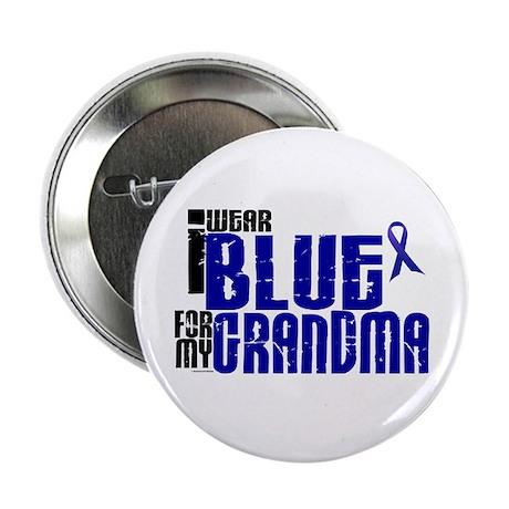 "I Wear Blue For My Grandma 6 2.25"" Button"
