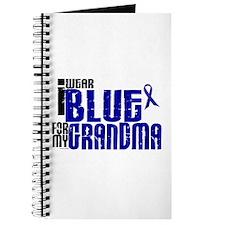 I Wear Blue For My Grandma 6 Journal