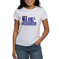 I Wear Blue For My Grandma 6 Tee