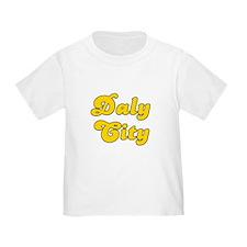 Retro Daly City (Gold) T