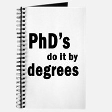 PhDs do it by degrees Journal