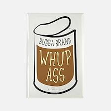 Bubba's Whup Ass Rectangle Magnet