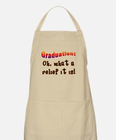 Graduation! What a Relief it is! BBQ Apron