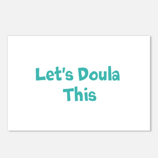 Let's Doula This Postcards (Package of 8)